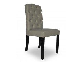 Designová židle East, prošívání Chesterfield